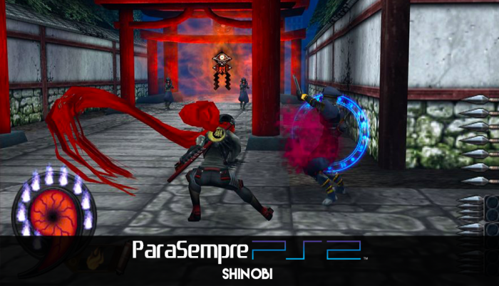 Para Sempre PS2: O retorno do ninja Shinobi!