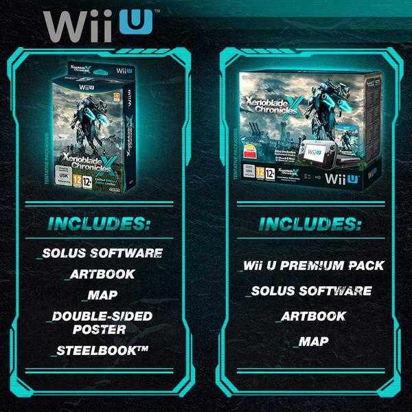 """Nintendo anuncia bundle de Wii U com Xenoblade X e de quebra dá um fim à """"raridade"""" do título original"""