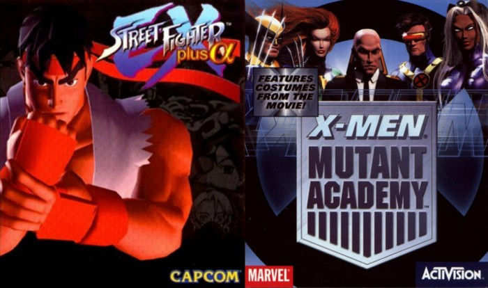 Para Sempre PS2: Os games alternativos de Street Fighter e X-Men na era 128 bits