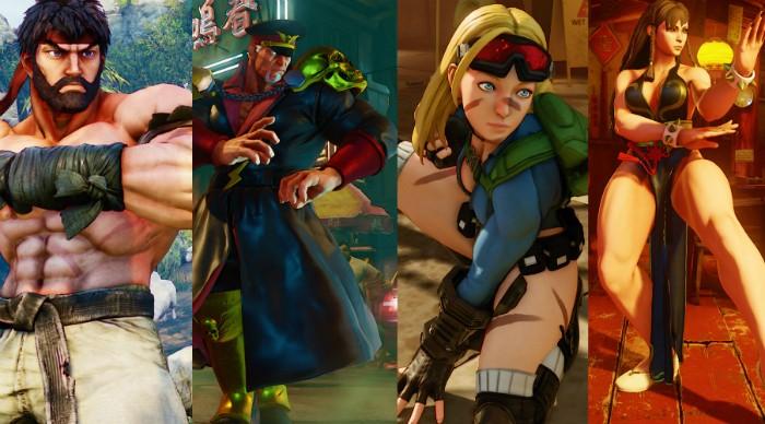 Capcom revela trajes alternativos para quem fizer pre-order de Street Fighter V