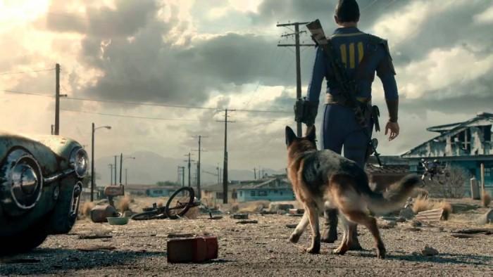 Fallout 4 ganha belo trailer com ator (e cachorro) reais