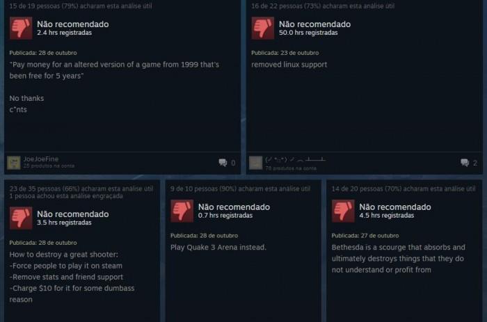 Tribuna Arkade: update de Quake Live torna o jogo pago, deleta dados e revolta jogadores