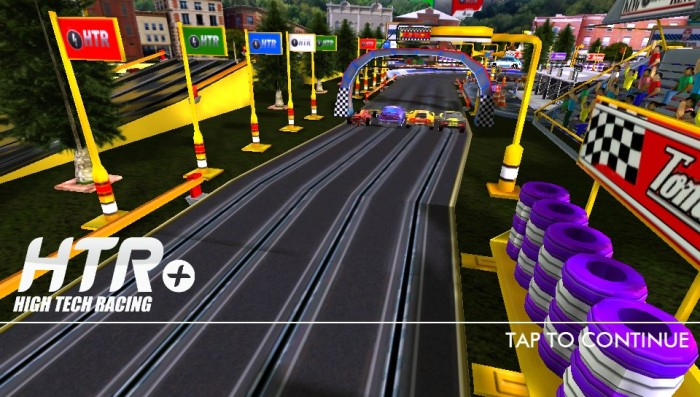 Análise Arkade: leve o autorama para qualquer lugar com HTR+ High Tech Racing