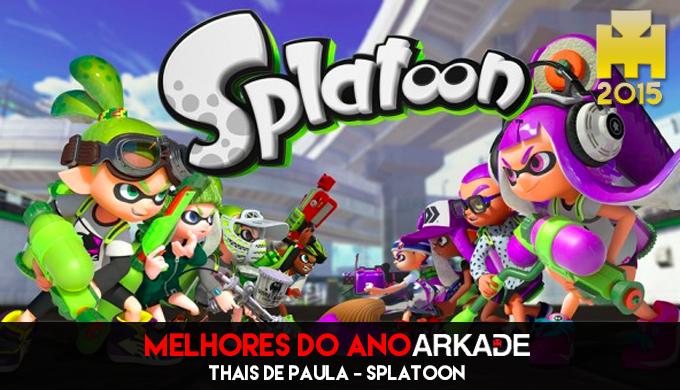 Especial Arkade Melhores Jogos do Ano: Splatoon