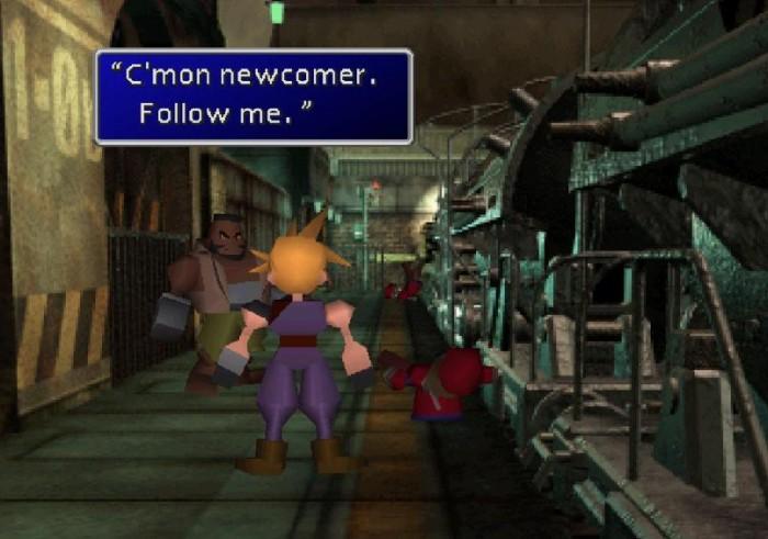 Vem com a gente ver a evolução técnica e gráfica de Final Fantasy VII