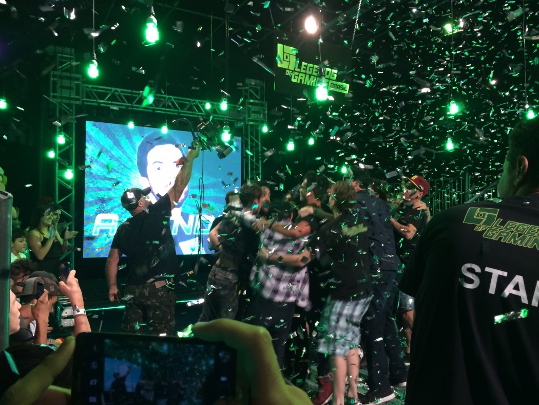 Conferimos a final do Legends of Gaming Brasil, reality-show promovido pela EndemolShine Beyond Brasil