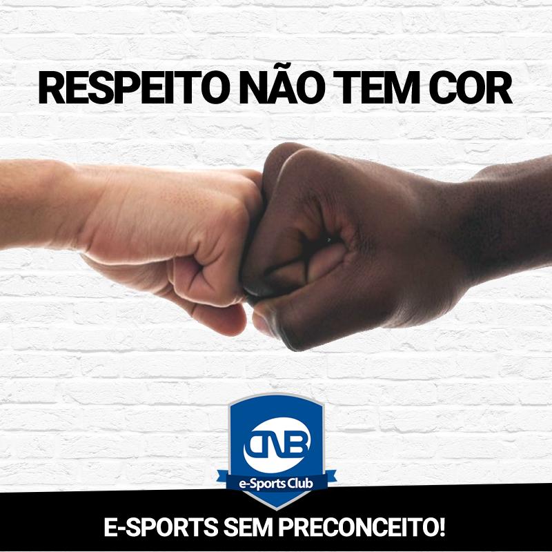 CNB responde comentários racistas que seu jogador recebeu em chats de streams e redes sociais