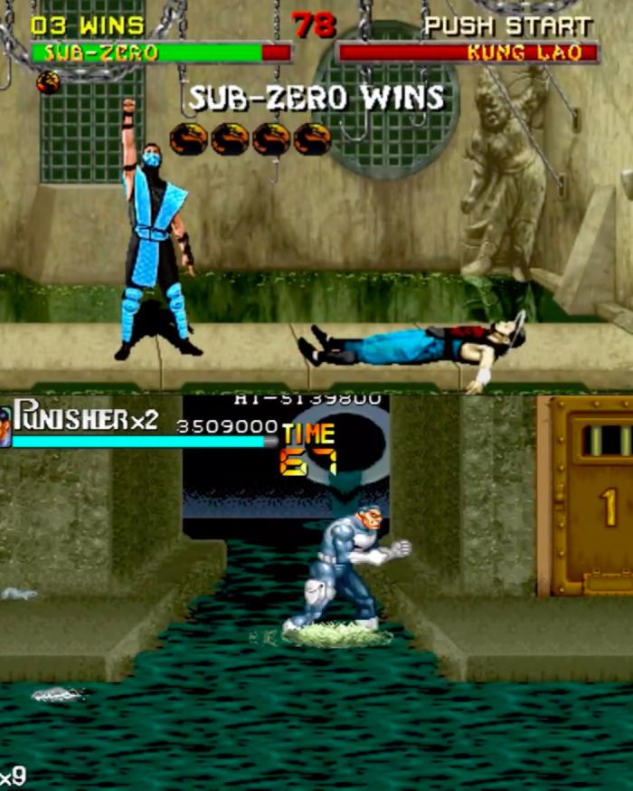 RetroArkade: Ser Frank Castle é mais legal no clássico The Punisher para arcades