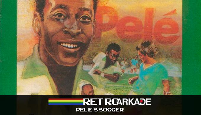 RetroArkade: O Rei do Futebol também foi pioneiro nos games licenciados, em Pele's Soccer