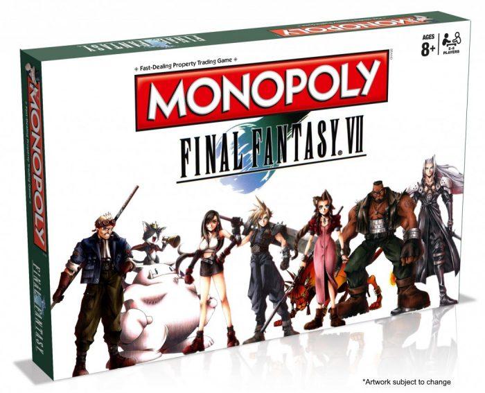 Vem aí o Monopoly oficial de Final Fantasy VII!
