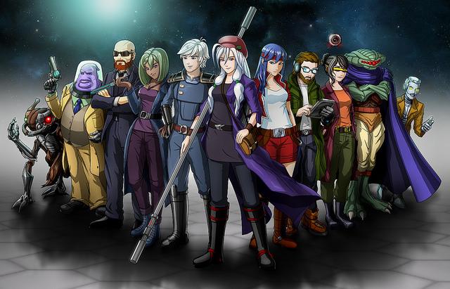 Cosmic Star Heroine é o novo RPG de ficção científica cheio de influências da era 16 bits