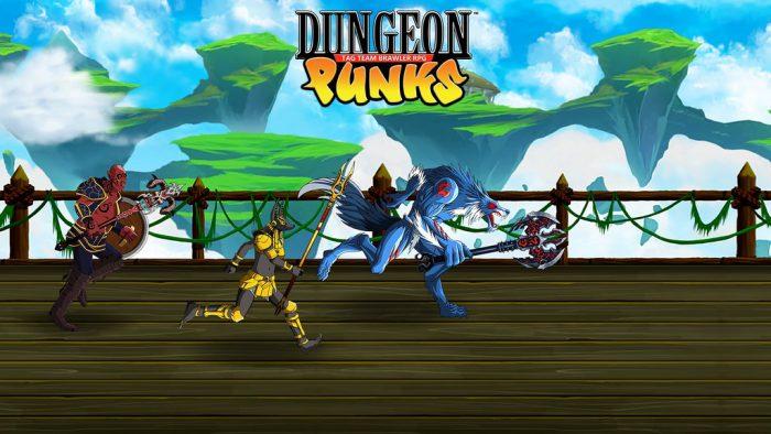 Análise Arkade: Dungeon Punks é pancadaria e RPG 2D para curtir com os amigos