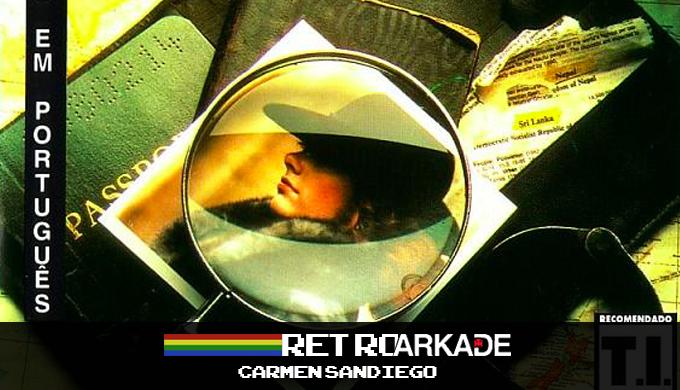 RetroArkade: Hora de fazer as malas no Master System e procurar a Carmem Sandiego