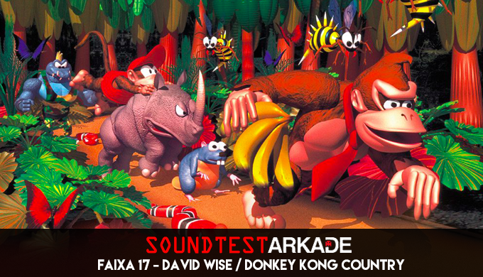 Sound Test Arkade Faixa 17 - David Wise / Donkey Kong Country