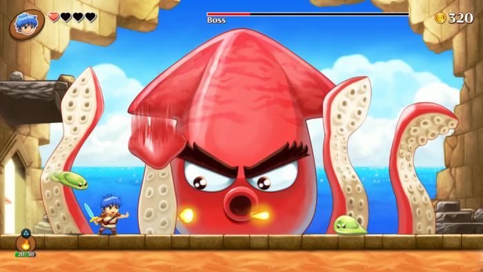 Conheça Monster Boy, um simpático jogo de plataforma inspirado em Wonder Boy!