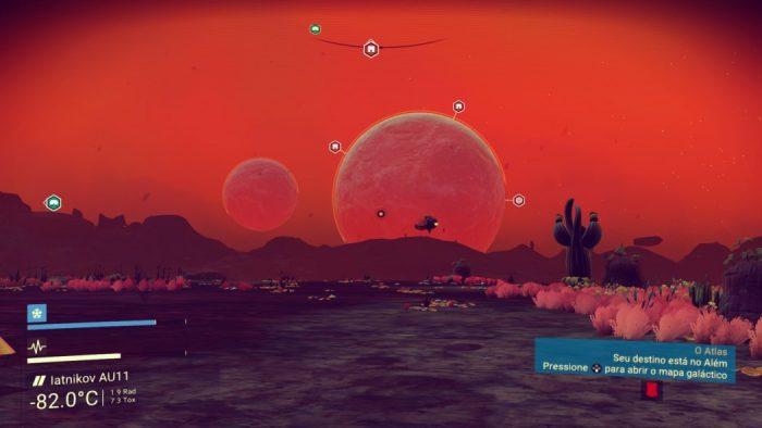 Análise Arkade: No Man's Sky é uma enorme (e entediante) viagem pelo universo