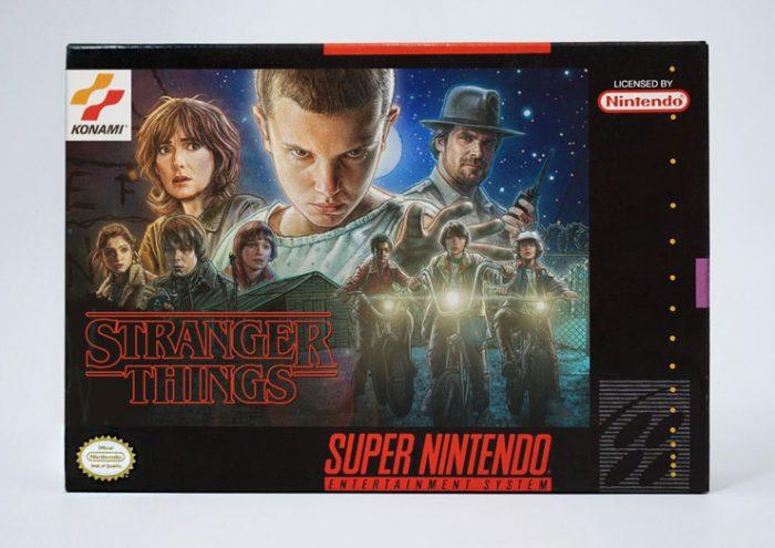 Venha ver capas de filmes e séries atuais inspiradas no Super Nintendo