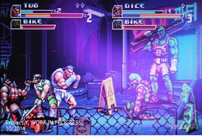 Está em desenvolvimento Project Y, pancadaria old school que será lançado para o Mega Drive