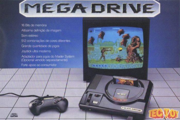 A Tectoy fala sobre as intenções de produzir cartuchos novos para o Mega Drive