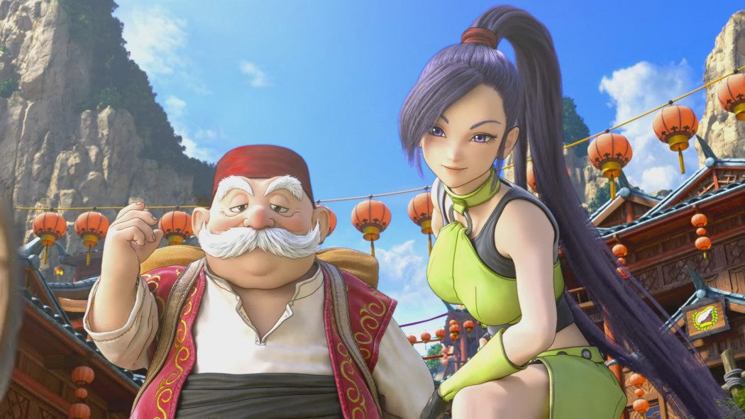 Confira agora o vídeo de abertura, gameplay e o visual de Dragon Quest XI no PS4 e no 3DS