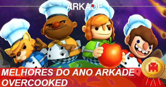 Melhores Jogos do Ano Arkade 2016: Overcooked