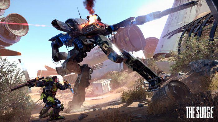 Assista a destruição de máquinas e mais detalhes da história em 15 minutos de The Surge