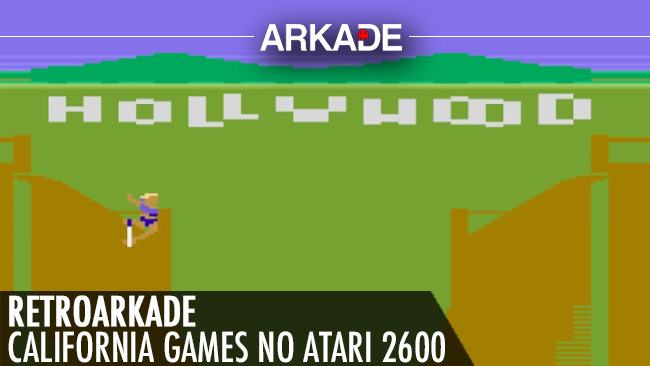 RetroArkade: A obscura versão para Atari 2600 de California Games