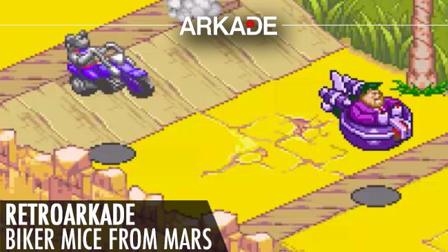 RetroArkade: Vamos andar de moto de novo com os ratos do Esquadrão Marte?