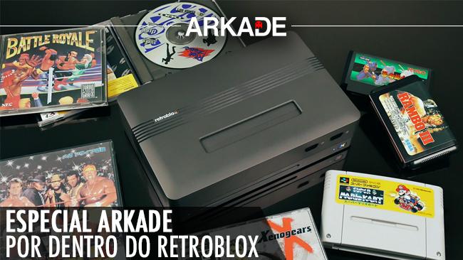 Conheça melhor o RetroBlox, o console retrô que rodará diversos sistemas clássicos