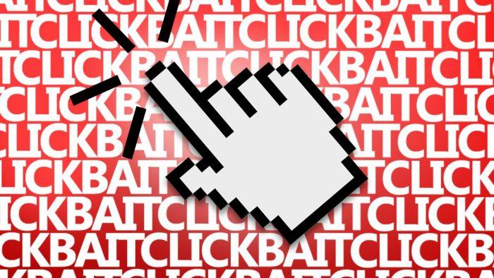 Voice Chat Arkade: Precisamos conversar sobre o famigerado Clickbait