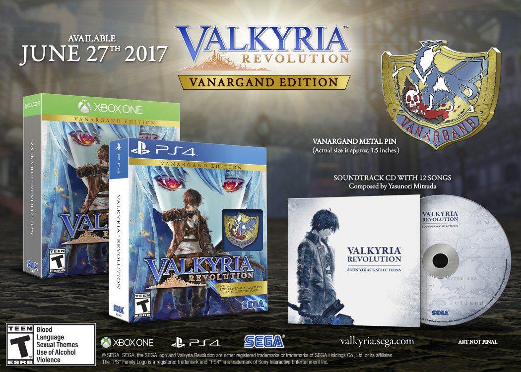Valkyria Revolution ganha data de lançamento no ocidente e edição de colecionador