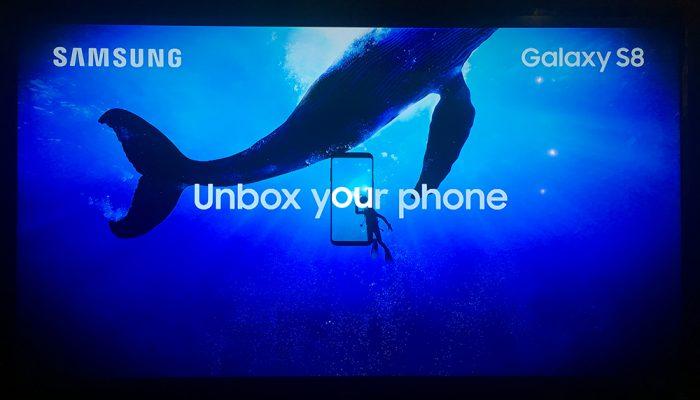 As primeiras impressões com o Samsung Galaxy S8