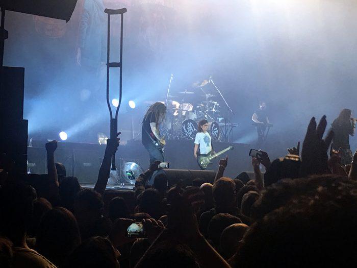 Korn surpreende em São Paulo com seu baixista de 12 anos, Tye Trujillo