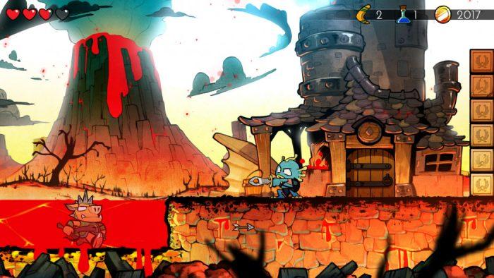 Análise Arkade: de volta aos tempos do Master System com Wonder Boy: The Dragon's Trap