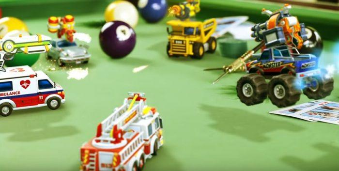 Caos e velocidade (em miniatura) no primeiro trailer de gameplay de Micro Machines World Series