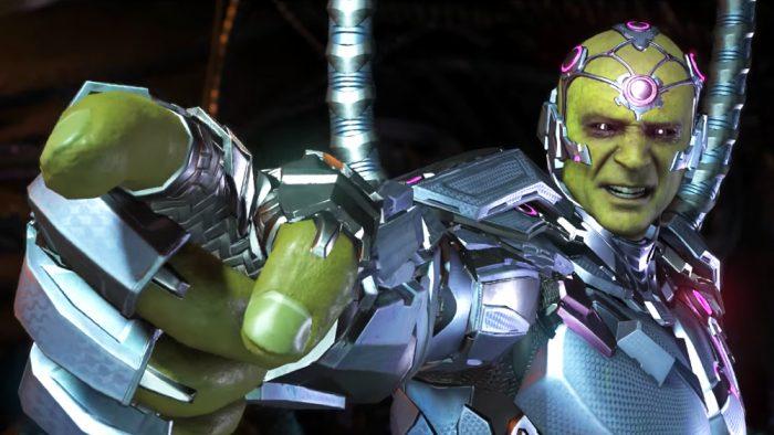 Brainiac é a grande ameaça de Injustice 2 em Alianças Despedaçadas - Parte 5