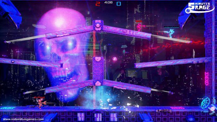 Preview Arkade: Futebol 2D, robôs e metralhadoras no frenético e repetitivo 5 Minutes Rage