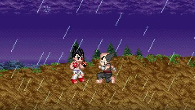 Para celebrar o lançamento de Tekken 7, relembre a história com uma série de animações em 8bits