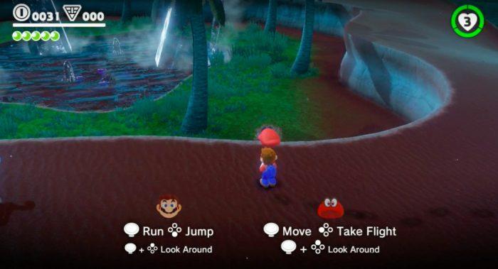 Super Mario Odyssey terá modo co-op, com o player 2 controlando um chapéu mágico