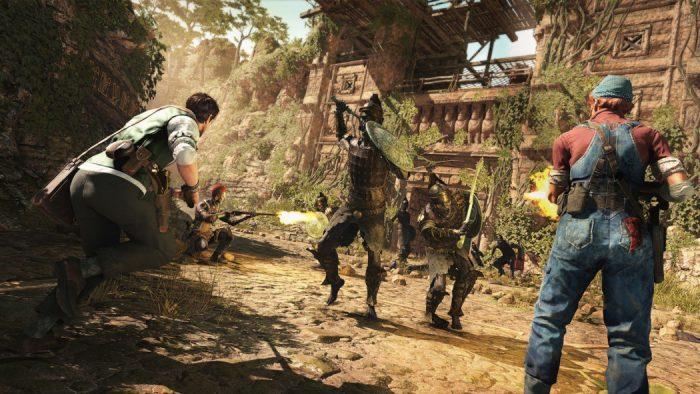 Confira 8 minutos do divertido Strange Brigade, novo game dos criadores de Sniper Elite