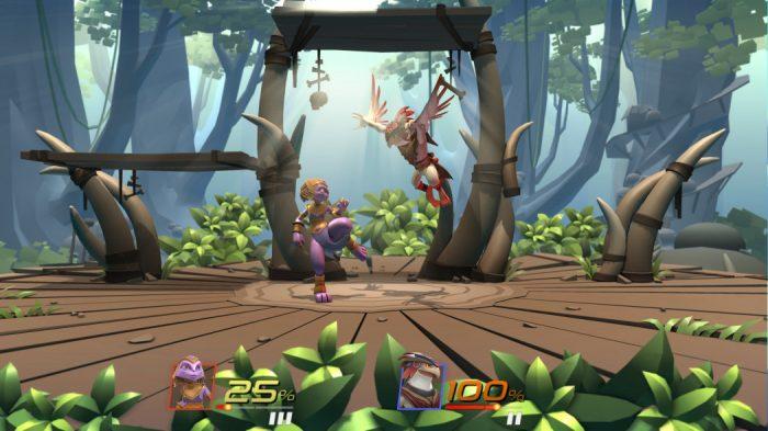 Análise Arkade: Brawlout oferece pancadaria nos moldes de Super Smash Bros.