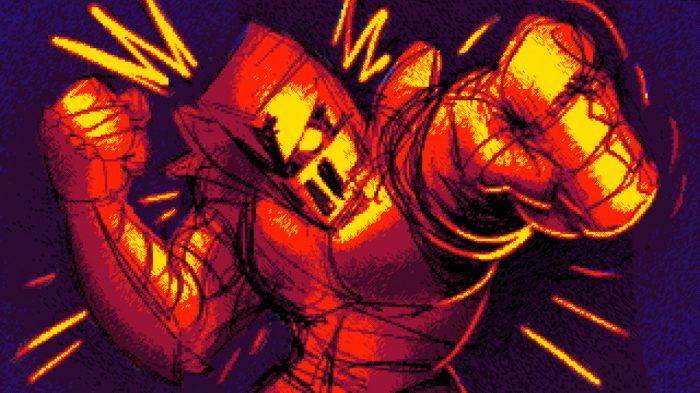 Largue as armas e vista suas luvas para a porradaria de Fight Knight