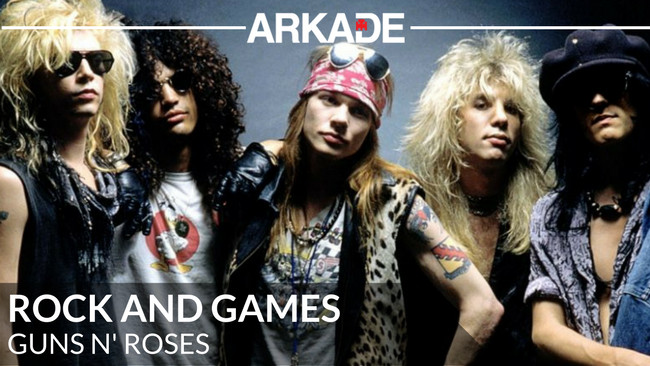 Rock and Games: Guns N' Roses, a banda mais homenageada dos games
