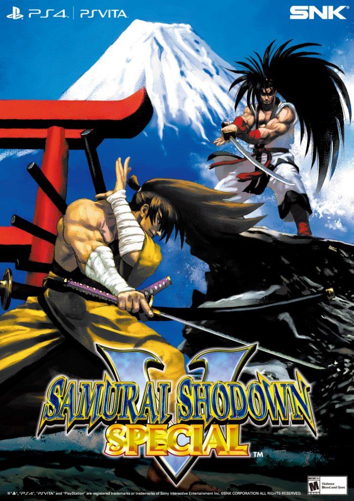 Samurai Shodown V Special: versão arcade do clássico será relançada no PS4 e no PS Vita!