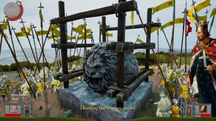 Análise Arkade: Rock of Ages II: Bigger & Boulder e os duelos de pedras rolantes