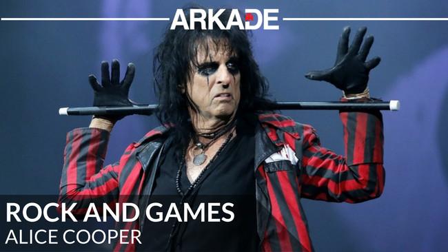 Rock And Games - Alice Cooper e sua curiosa presença como chefe em um game