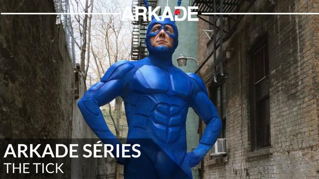 Arkade Séries - The Tick apresenta humor, cinismo e uma brilhante proposta sobre heróis