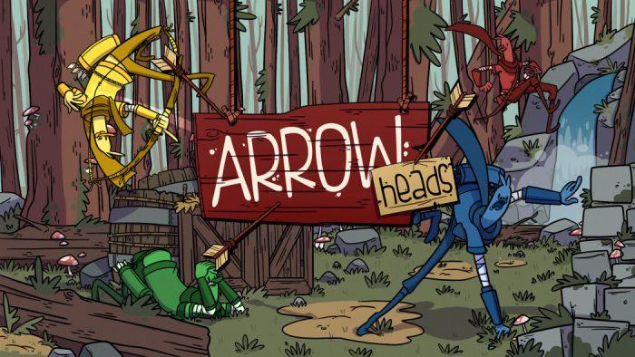 Flechas, aves e muito caos no anúncio de Arrow Heads