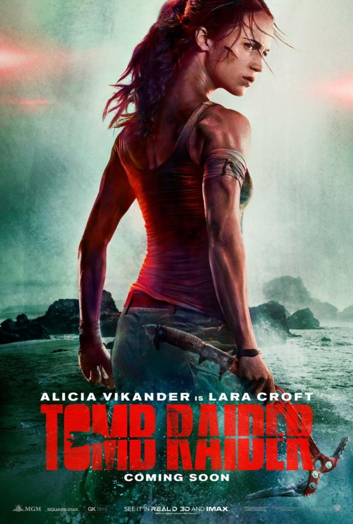 É hora de conferir o pôster oficial e o primeiro teaser do novo filme de Tomb Raider
