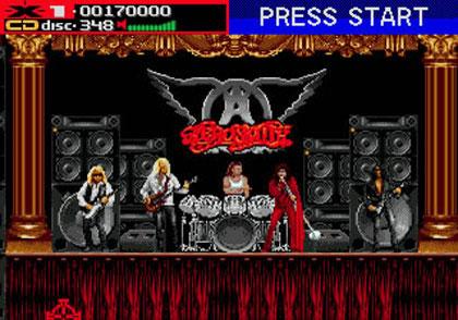 Rock and Games - Aerosmith e um dos games mais esquisitos de todos os tempos